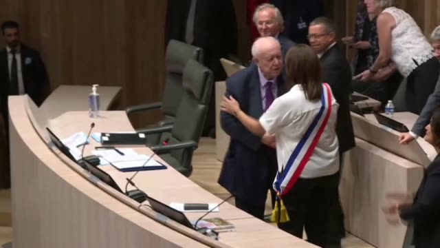 doctor and green party candidate michèle rubirola becomes the first female mayor of marseille reclaiming the city from jeanclaude gaudin after 25... - female doctor stock videos & royalty-free footage