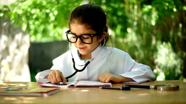 doctor child - young doctor stock videos and b-roll footage