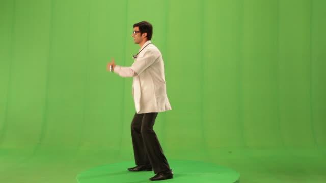 Doctor dancing