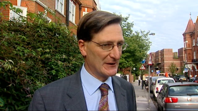 attorney general dismisses coverup england london ext dominic grieve mp interview sot the issue is can the public be provided with reassurance about... - dominic grieve stock videos and b-roll footage