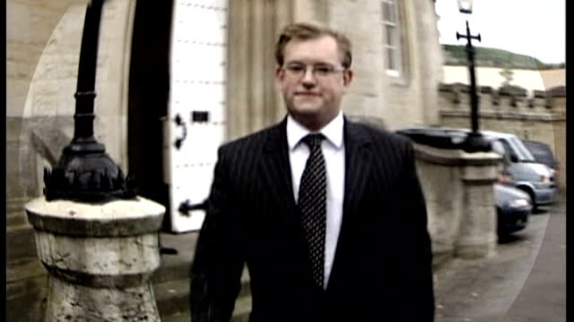 pathologist describes injuries publicly for the first time tx oxford oxford coroners court dr nicholas hunt along outside courthouse - pathologist stock videos and b-roll footage