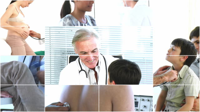 CU Doctor examining patient / Cape Town, Western Cape, South Africa