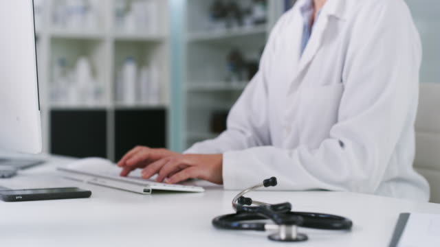 a doctor has many duties - medical record stock videos & royalty-free footage