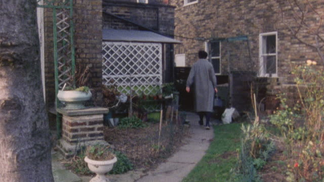 1983 montage doctor iona heath performing home visit in a patient's apartment / london, england - kentish town stock videos & royalty-free footage