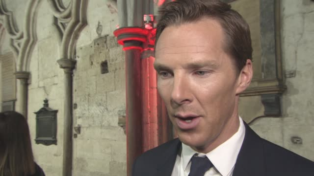 doctor strange' uk premiere at westminster abbeyat westminster abbey on october 24, 2016 in london, england. - benedict cumberbatch stock videos & royalty-free footage