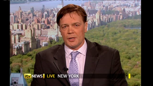 doctor struck off the medical register for linking autism to vaccine england london gir / usa new york dr andrew wakefield live 2way interview from... - 自閉症点の映像素材/bロール