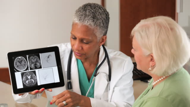 MS TD Doctor talking with Senior Patient / Richmond, Virginia, United States