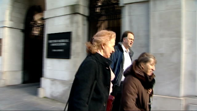 doctors to hold first ballot for industrial action since 1970s england london ext people along outside british medical association headquarters... - strike industrial action stock videos & royalty-free footage
