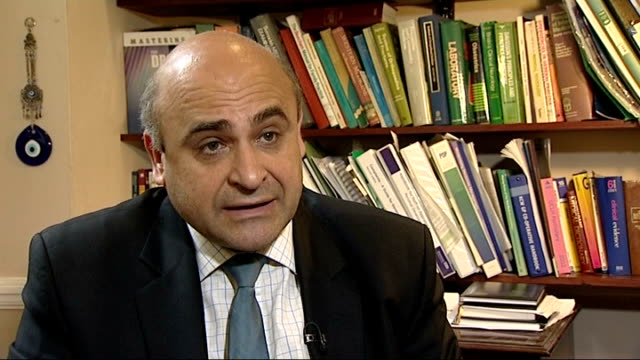 Doctors vote to take industrial action over pension reform Dr Maher Shakarchi interview SOT Various of Dr Shakarchi examining patient in examination...