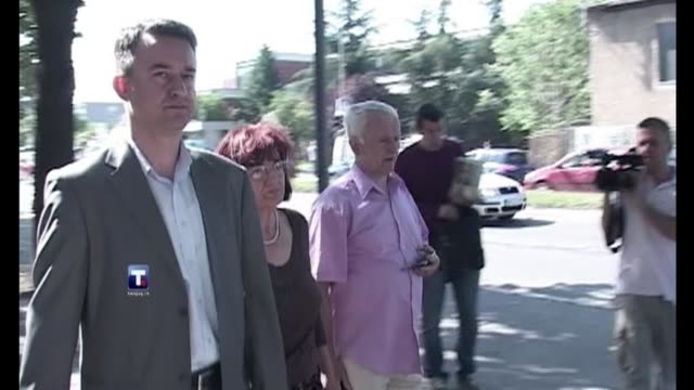 doctors will say friday if they think war crimes suspect ratko mladic is fit to appear in court, a day after serbian troops captured the man accused... - ratko mladic stock videos & royalty-free footage