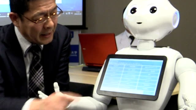 Doctors will soon be assisted by artificial intelligence and a cute white robot to help prevent them from overlooking rare or more serious illnesses...