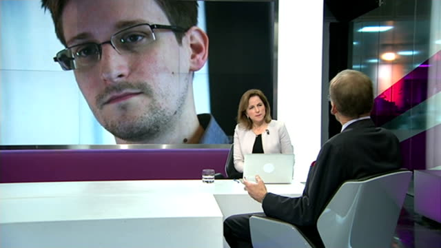 documentary 'citizenfour' wins oscar; england: london: gir: int sir david omand studio interview sot - in my book he's more villain than hero/ the... - ドキュメンタリー映画点の映像素材/bロール