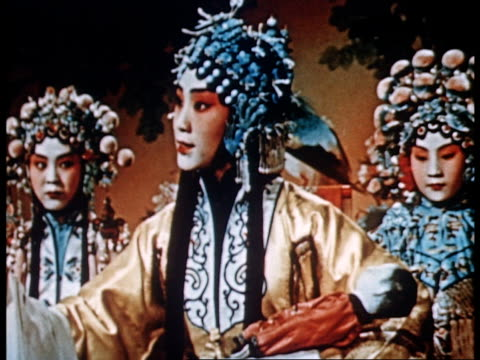 vidéos et rushes de documentary of the training of peking opera artists from beginning to finished artists - opéra style musical