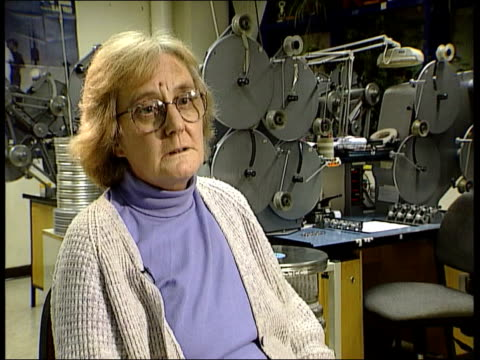 documentary on the polar expedition of ernest shackleton restored england london int brenda hudson interview sot i had 99 films labelled south /... - ernest shackleton stock videos & royalty-free footage