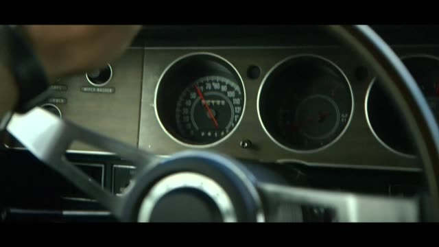 dodge challenger - dashboard - matte image technique stock videos & royalty-free footage