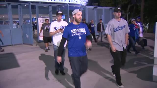 KTLA Dodgers Fans Reaction After Game 7 Loss