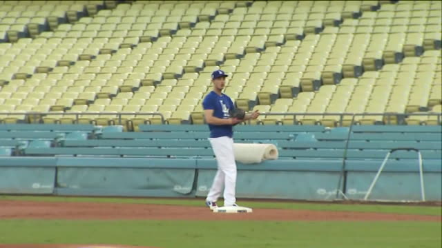 KTLA Dodgers Media and Workout Day