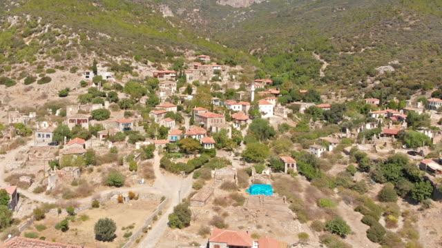 doganbey village in turkey - aydın province stock videos and b-roll footage