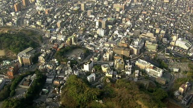 AERIAL, Dogo Onsen, Hot Spring, Ehime, Japan