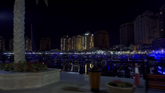 vídeos y material grabado en eventos de stock de el puerto deportivo de doha, la perla de qatar - doha