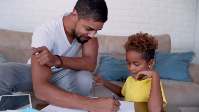 doing homework together - modern manhood stock videos & royalty-free footage
