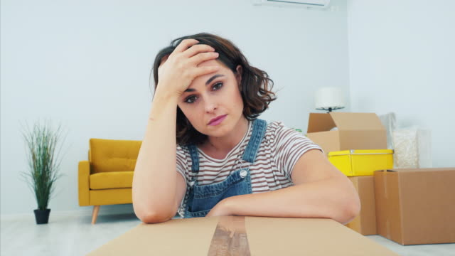 doing things alone is harder than i thought. - divorce stock videos & royalty-free footage