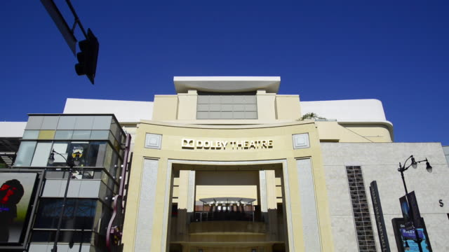 dolby theatre in hollywood - oscars stock videos & royalty-free footage