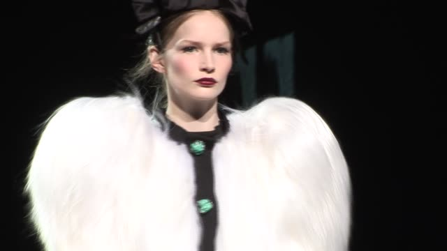 milan fashion week a/w 2009 at the dolce & gabbana: milan fashion week a/w 2009 at milan . - dolce & gabbana stock videos & royalty-free footage