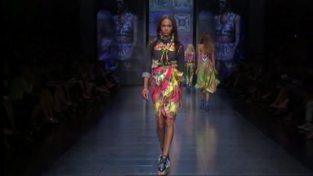 Dolce Gabbana Milan Fashion Week Spring/Summer 2012