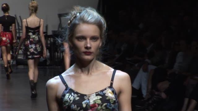 Dolce Gabbana Milan Fashion Week S/S 2010