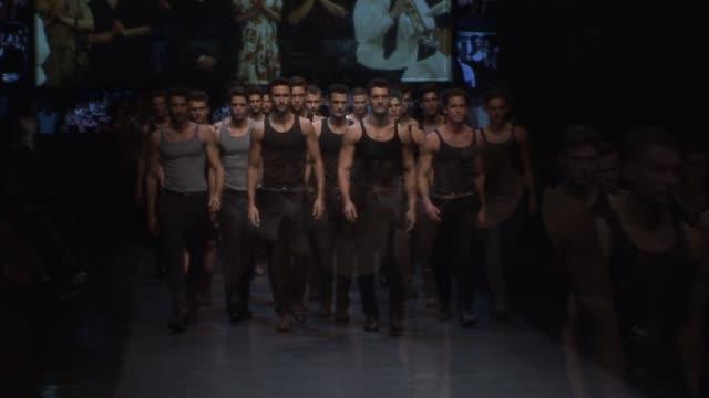dolce & gabbana - milan men's fashion week - dolce & gabbana stock videos & royalty-free footage