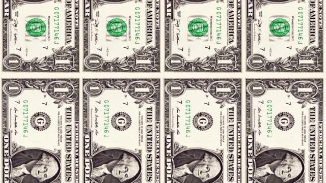 Animação de dólares