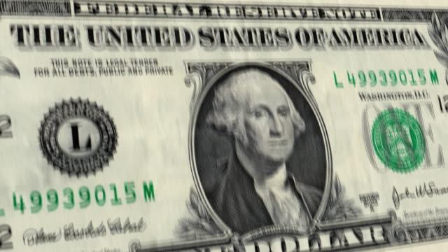 u.s. $1 dollar bill explodes (hd) - george washington stock videos and b-roll footage