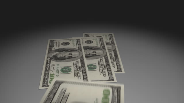 $100 dollar bills, cash, money - medium group of objects stock videos & royalty-free footage