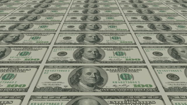 dollar bills - us dollar note stock videos & royalty-free footage