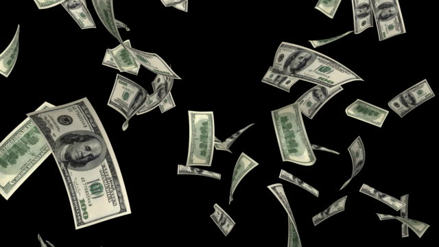 $100 dollar  bills - us dollar note stock videos & royalty-free footage