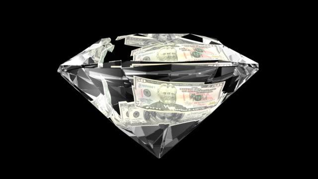 vidéos et rushes de dollar gw diamond100 50 chaînes en haute définition - diamant
