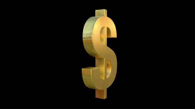 dollar symbol - dollar symbol stock videos & royalty-free footage