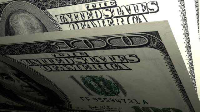 100 dollars American local currency paper money