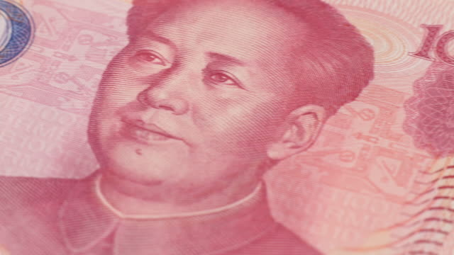 dolly from chinese to japanese currency - chinese currency stock videos & royalty-free footage