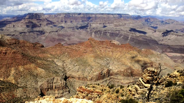 dolly motion of the grand canyon national park view - wide shot stock videos & royalty-free footage
