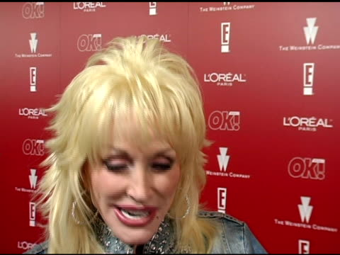 Dolly Parton on how she'd feel if she won the Oscar at the 2006 Weinstein Company PreOscar Party at the Pacific Design Center in West Hollywood...