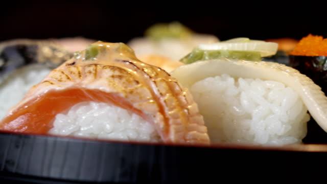 寿司のドリー ショット