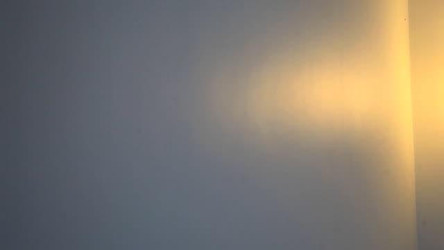 stockvideo's en b-roll-footage met hd dolly:orange lantern in the bedroom. - schaduwe