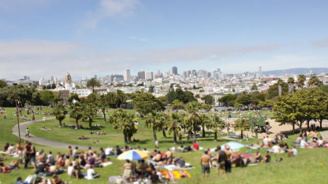 Dololes Park San Francisco Time Lapse