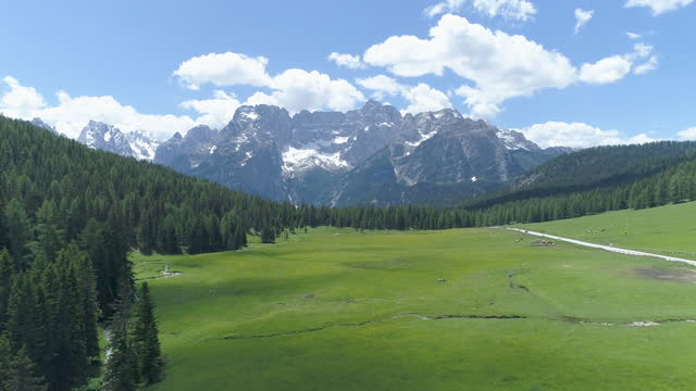 dolomites / the italian alps, italy - valley stock videos & royalty-free footage