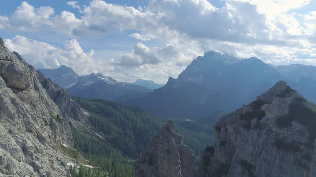 dolomites / the italian alps, italy - dramatic landscape stock videos & royalty-free footage