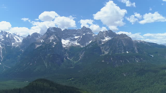 dolomites / the italian alps, italy - 360 grad panorama stock-videos und b-roll-filmmaterial
