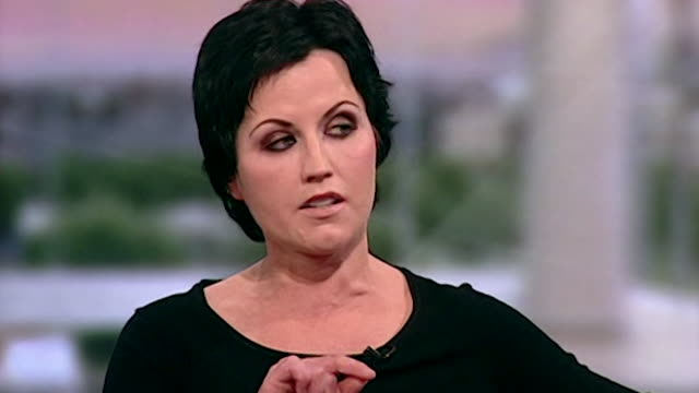 Dolores O'Riordan of the Cranberries discusses 'cracking up' in the early days of the band