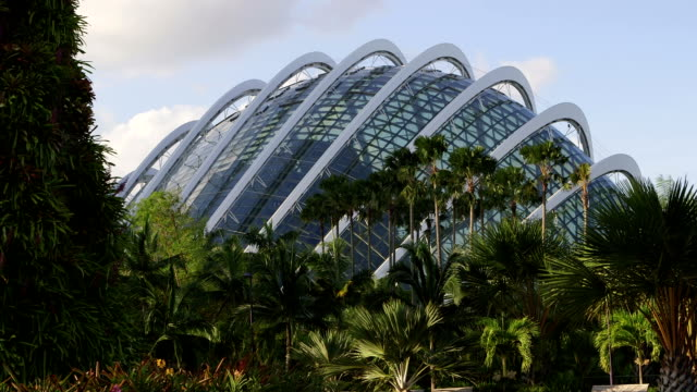 A dome at Gardens by the bay